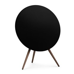 Beoplay A9 - 3rd Generation Speaker, black with walnut legs
