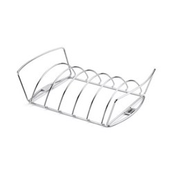 Rib rack and roast holder