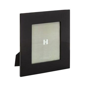 "Lacquer Photograph frame, 8 x 10"", black"
