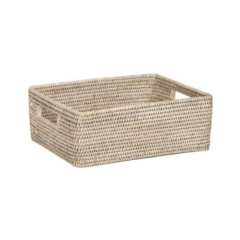 Ashcroft Regular box tray, L35 x D26 x H12.4cm, rattan