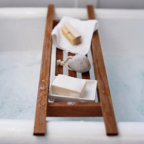 Bath Tidy, L75 x W19 x H6cm, Wood