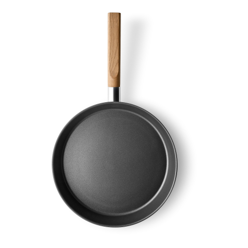 Nordic kitchen Frying pan, Dia28cm, Stainless Steel