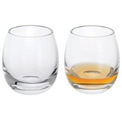Whisky Pair of dram glasses, H7cm - 11cl, clear