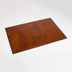 Desk mat, W60 x D40cm, conker brown