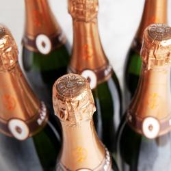 Case of Vintage Blanc de Blancs Champagne Gift Voucher, 6 bottles