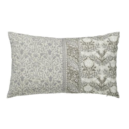 Wandle Cushion, L50 x W30 x H10cm, Grey