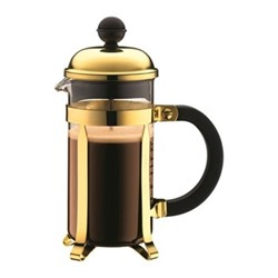 Chambord 3 cup coffee maker, 35cl, gold