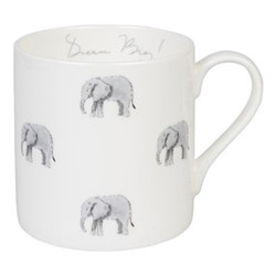 ZSL Elephant Mug, 275ml, multi