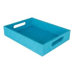 Chelsea Small tray, 34 x 25 x 6.5cm, bondi blue