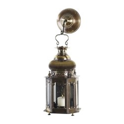 Venetian Table lamp, H34.5 x W18 x L18cm, bronze/polished