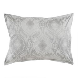 Namasté Pillowcase, L75 x W50cm, grey