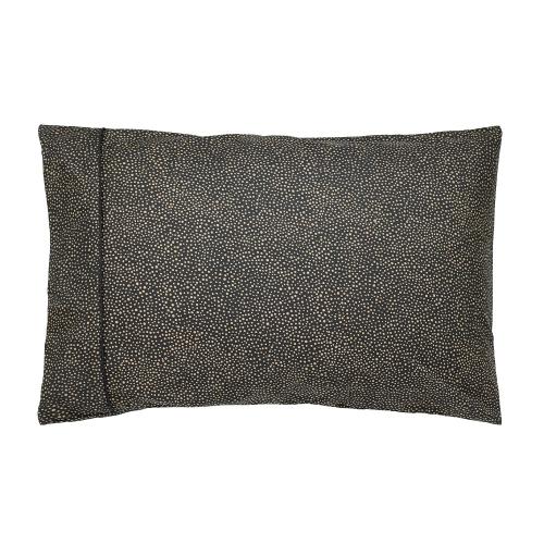 Morris Seaweed Single housewife pillowcase, L48 x W74cm, Black