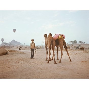 Pushkar V by Helene Sandberg Photographic print, 59.4 x 45.6cm