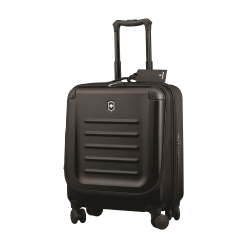 Spectra 2.0 Cabin sized travel case with extra capacity and dual access, 24 x 41 x 55cm, black