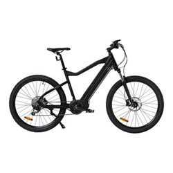 E-Hardtail Off-road E-bike, 36V - 250W - 10 Speed, black