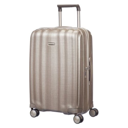 Lite-Cube Spinner suitcase, 68cm, ivory gold