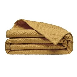 Palace Bed cover, L240 x W260cm, gold