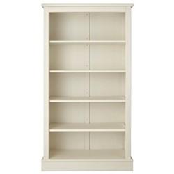 Milne Bookcase, H164 x W89 x D30cm, antique white