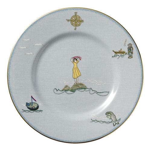 Sailors Farewell Plate, 22.5cm