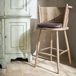 Taino Bar stool, H99 x W57 x D52cm, Natural