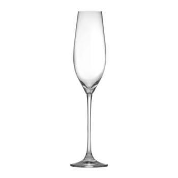 Eventi Set of 6 champagne glasses, 21cl, flute