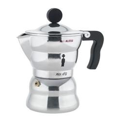 Moka Espresso coffee maker, 3 cup, aluminium casting