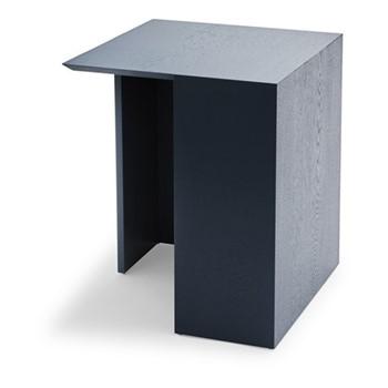Building High table, L40 x W40 x H49cm, dark blue