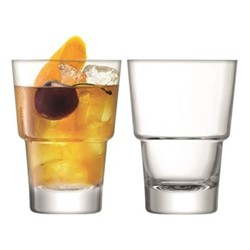 Mixologist Pair of cocktail tumblers, 32cl