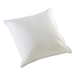 Luxury Square pillow, L65 x W65cm - Medium/Firm, white