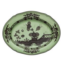 Oriente Italiano Oval platter, 34cm, Bario
