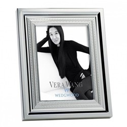 Vera Wang - With Love Photograph frame, 10 x 15cm, silver plate