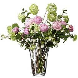 Open bouquet vase 23cm