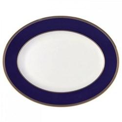 Renaissance Gold Oval platter, 35cm