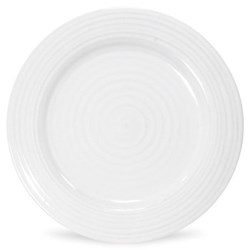Ceramics Set of 4 dinner plates, 28cm, white