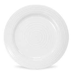 Ceramics Set of 4 side plates, 20cm, white