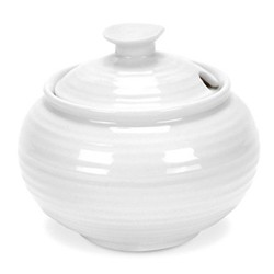 Ceramics Covered sugar bowl, 31cl, white