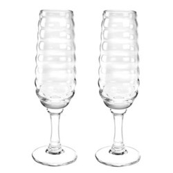 Glassware Pair of Champagne flutes boxed set, 20cl