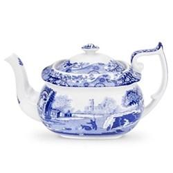 Blue Italian Teapot, 1.1 litre