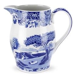 Blue Italian Liverpool jug, 1.7 litre