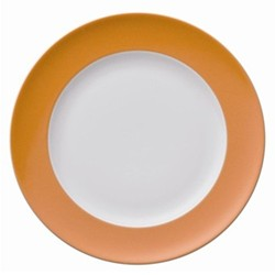 Sunny Day Plate, 22cm, orange