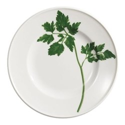 Herbaticum - Parsley Dessert plate with rim, 19cm