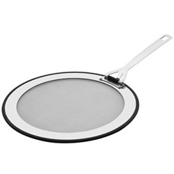3 Ply Stainless Steel Splatter guard, fits 26,28 and 30cm frying pans