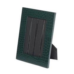 "Oyster Bay Photograph frame, 7 x 5"", green croco"