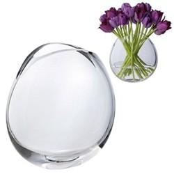 Flora Vase, H19cm, clear