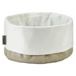 Klaus Rath Bread bag, H21 x W23cm, sand/white