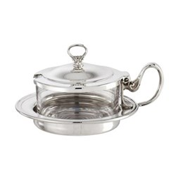 Cheese pot with cover 12.8cm
