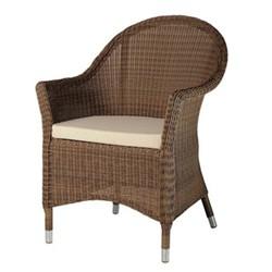 San Marino Curved top armchair