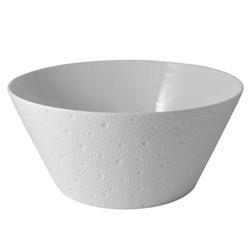 Ecume Salad bowl, 28cm, white