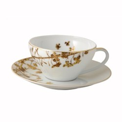 Vegetal Or Teacup and saucer, 15cl