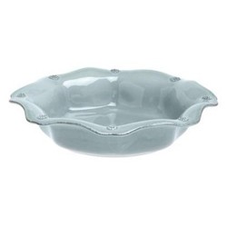 Set of 4 scallop pasta bowls 10""